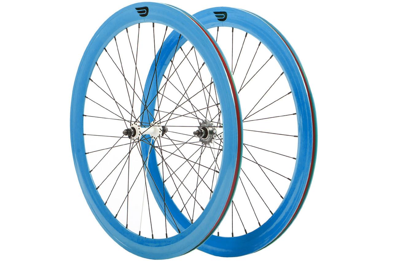 Набір колес Pure Fix Cycles 40 мм, сині