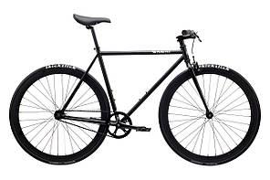 Велосипед Pure Fix Cycles Juliet54 Матова чорна рама 54см з матовими чорними колесами