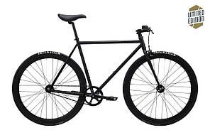 Велосипед Pure Fix Cycles Juliet54Plus Матова чорна рама 54см з матовими чорними колесами