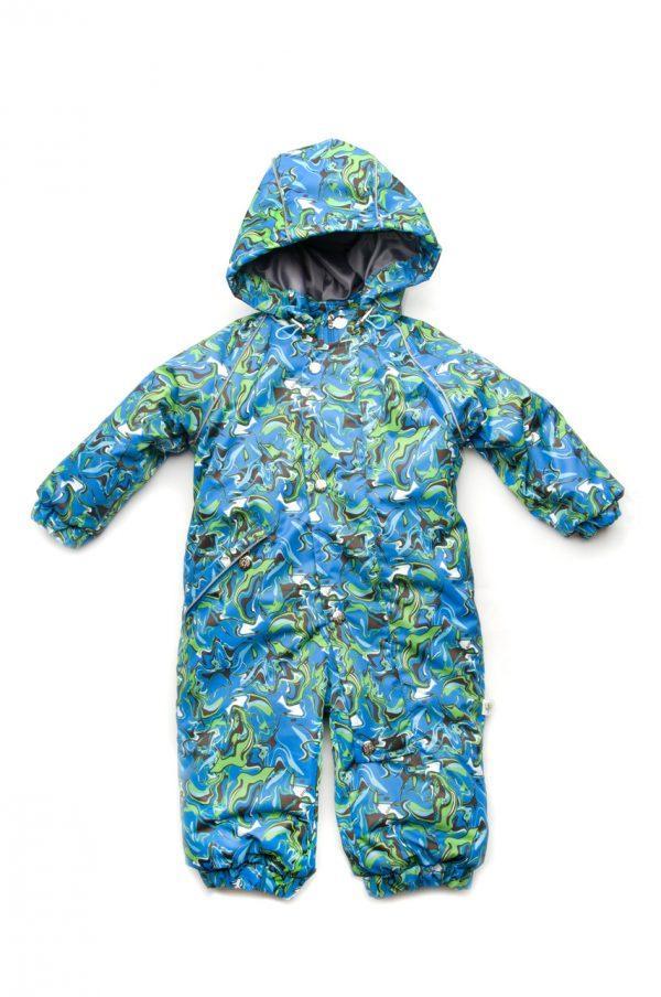 Сдельный комбинезон зимний для мальчика  1-3 года
