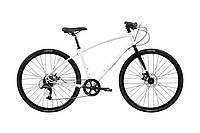 Велосипед Pure Fix Cycles Frey Large Біла рама з чорними колесами, фото 1