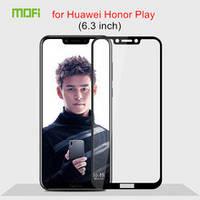 Защитные стекла для Huawei Honor Play Full Glue 2.5d Черные