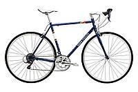 Велосипед Pure Fix Cycles Bonette 53 Синя рама з сріблястими колесами, фото 1