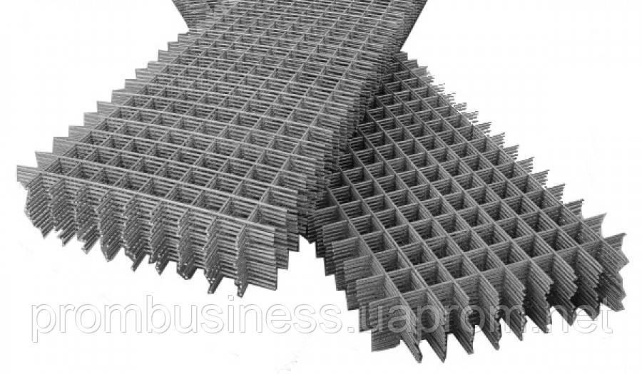 Сетка кладочная (армопояс, сварная сетка) 4х100х100 1,0х2,0м