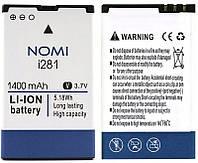 Аккумулятор NB-281 к Nomi i281 1400mAh