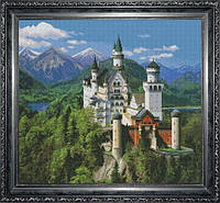 Набор для вышивки крестом Лебединый замок Ю 0504