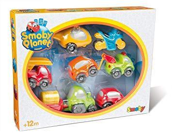 Весёлые автомобили Vroom Planet Smoby 120217, фото 1