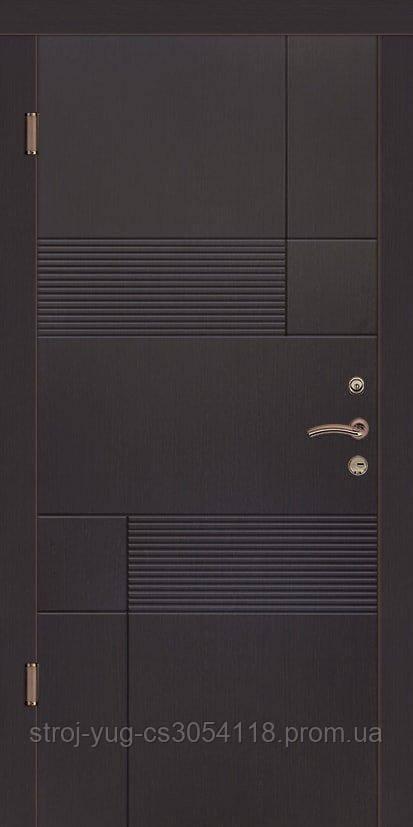 Дверь входная металлическая «Премиум», модель Калифорния  850*2040*70
