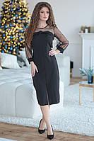 Платье женское черное 34915, фото 1