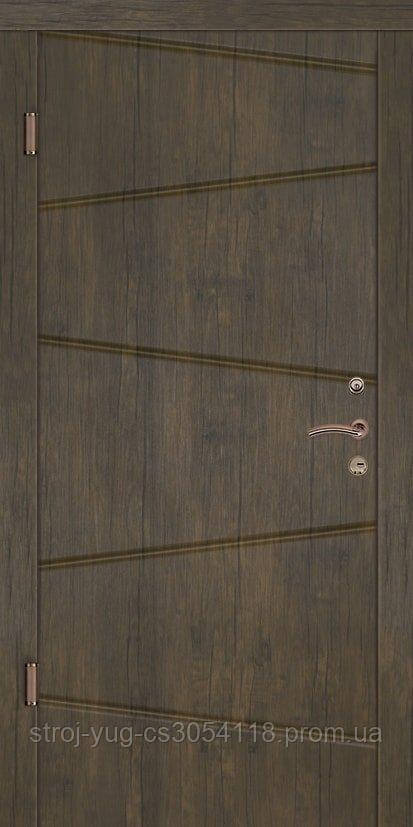 Дверь входная металлическая «Премиум», модель Канзас 850*2040*70