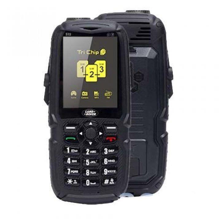 Телефон Land Rover S23 hope 3sim, противоударный, батарея 10000 mAh + Power Bank