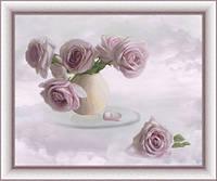 Набор для вышивки крестом Розовые облака Ю 0303