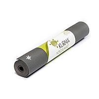 Kurma light grip коврик для йоги серый