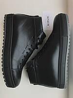Зимние Мужские Ботинки кожаные Hudromax, фото 1