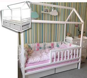 Домик кровать с ящиками Рио стандарт S