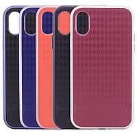 "IPhone X (5.8"") Чехол HWcase TPU+PC для Apple iPhone X (5.8"") Черный / Черный на Айфон"