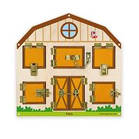 Игрушка настенная бизиборд Открой замок Viga Toys 51627, фото 1