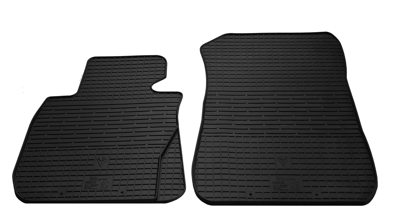Коврики в салон резиновые передние для BMW 3 E91 2005-2011 Stingray (2шт)