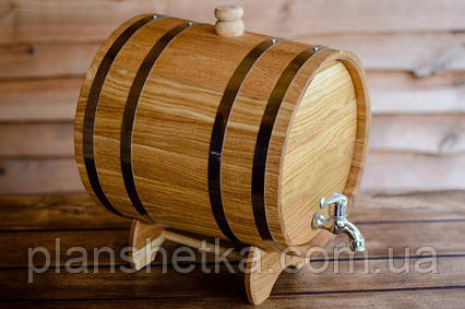 Дубовая бочка жбан для алкоголя 50 литров, фото 2