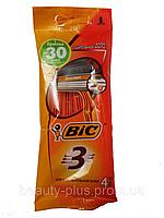BIC® мужские одноразовые станки BIC® 3 Sensitive 1уп/4шт, фото 1