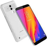 Смартфон HomTom S99 белый цвет (5,5'', памяти 4/64GB, акб 6200 мАч )