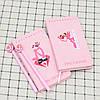 Набор блокнот и ручка Розовая Пантера, фото 3