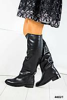 Сапоги женские кожаные европейка, фото 1