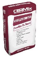 Клей для плитки для облицовки керамической плиткой CeмMix GL Basic