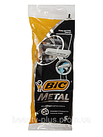 BIC® мужские одноразовые станки для бритья BIC® Metal 1уп/5шт