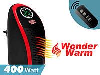 Портативний обігрівач Wonder Warm 400W з пультом, міні тепловентилятор, фото 1