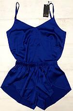 Шелковый комплект майка и шортики  размер 48-50, фото 2