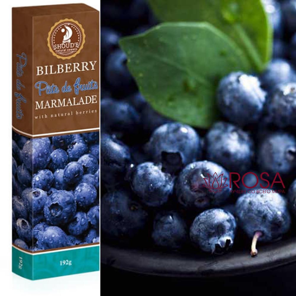 Мармелад Чорниця Patte de Fruits Солодкий світ, 192 грама