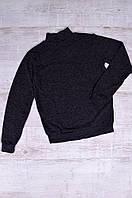Гольф мужской утепленный черный ACG 0656, фото 1