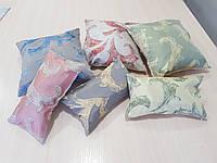 Комплект подушек   цветные крупный завиток, 6шт, фото 1