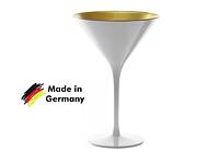 "Бокал для мартини ""Olympic"" глянцевый-белый/золотой 240 мл, h-172 мм, d-116 мм Stoelzle 1408925"