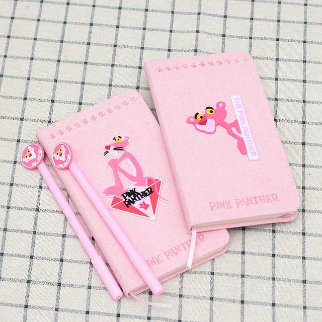 Набор блокнот и ручка Розовая Пантера