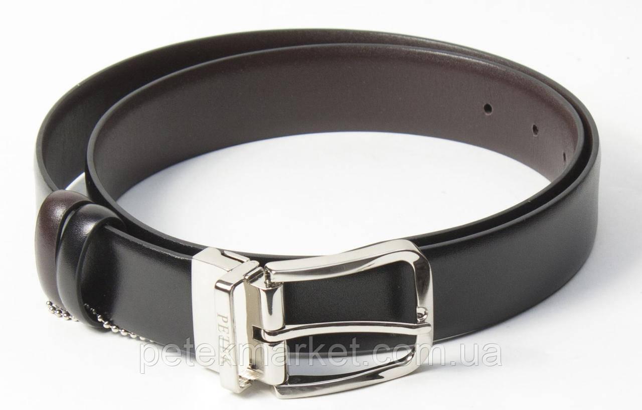 Мужской кожаный ремень Petek 3500009004 (000-01/000-02)