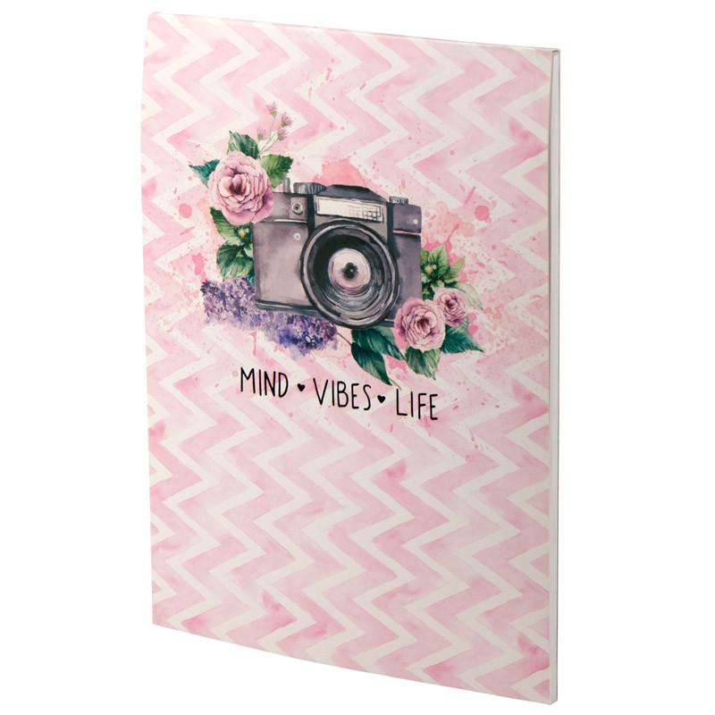 Блокнот-планшет Axent Aquarelle 8440-01-А, A5, 50 листов, нелинованный