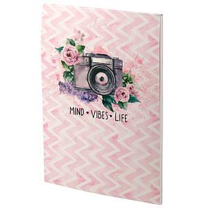 Блокнот-планшет Axent Aquarelle 8440-01-А, A5, 50 листов, нелинованный, фото 2