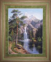 Набор для вышивки крестом Водопад Ю 0601