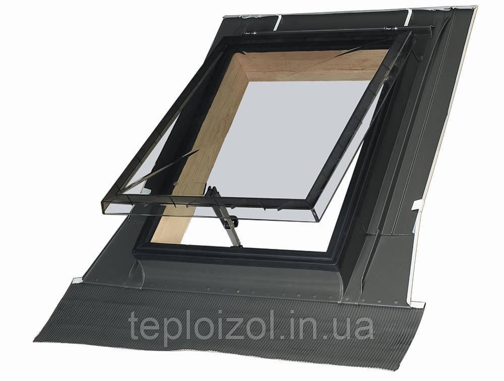 Вихід-вікно на дах FAKRO WSH з окладом 86х86см