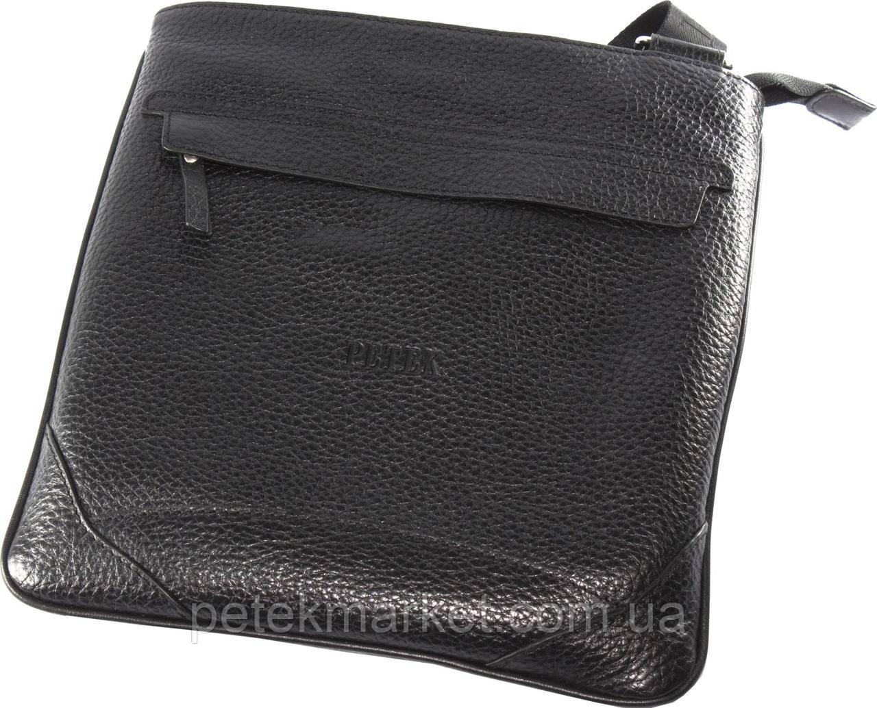 6fa6ee0e60d3 Сумка мужская PETEK 3876/2 Черный (3876/2-46B-01) - купить по лучшей ...