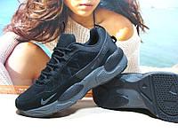 Кроссовки мужcкие Nike Rivah (реплика)черные 43 р., фото 1