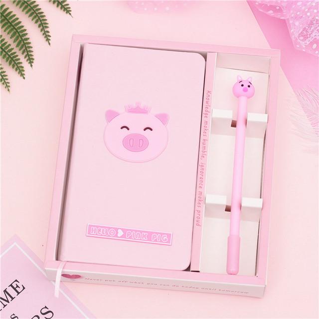 Блокнот і ручка Свинка