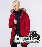 Braggart Youth | Зимняя молодежная парка 25690 красная