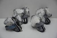 Обувь, ботинки для  собак Зайка