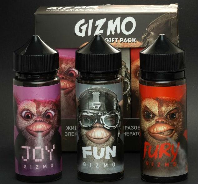 Жидкость для электронных сигарет GIZMO 120ML