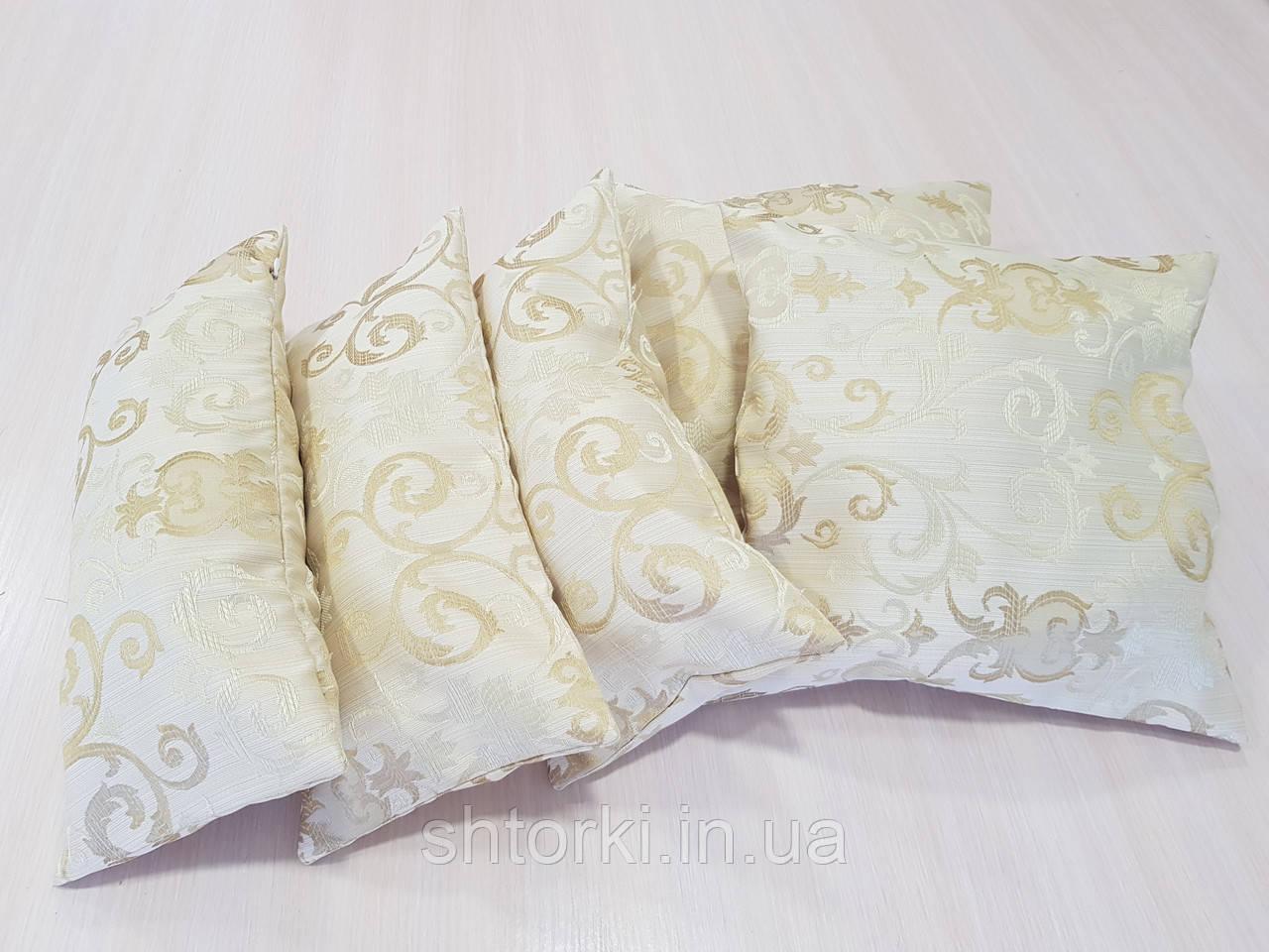 Комплект подушек NANCY соломенные, 5шт