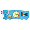 Настенная игрушка бизиборд Слон Viga Toys 50472