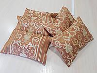 Комплект подушек NANCY коричневые,5шт, фото 1
